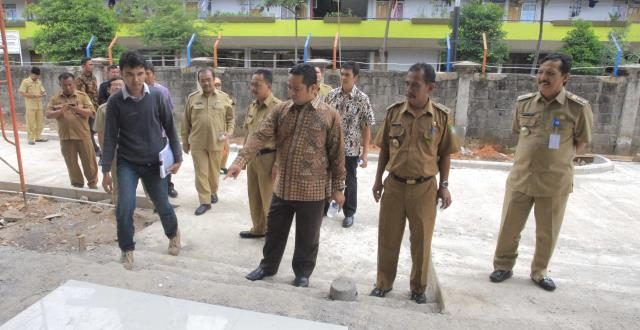 Metrobanten Wali Kota Tinjau Pembangunan Puskesmas Rawat Inap Jatiuwung