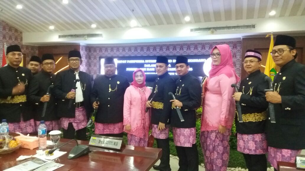 Paripurna Istimewa DPRD Kota Tangerang
