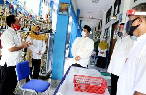 Wali Kota Cek Proses PPDB di SMPN 2 Kota Tangerang