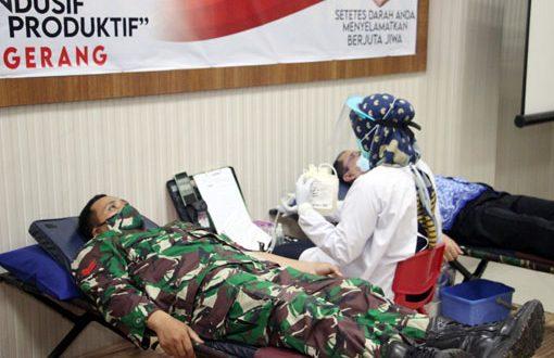 Sinergitas TNI-POLRI Dan Forkopimda Kab. Tangerang Menggelar Aksi Donor DarahPolresta Tangerang