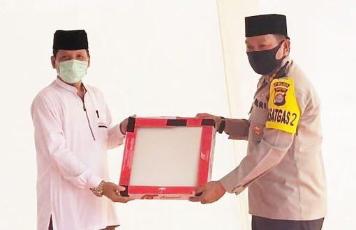 Wakili Kapolda Banten, Dirbinmas Polda Banten Hadiri Peletakan Batu Pertama Pembangunan Gedung FSPP Kabupaten Serang