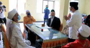 Calon Pengantin di KUA Kecamatan Pinang Patuhi Protokol Kesehatan Covid-19