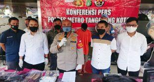 Polisi Tangkap Pelaku Pembunuh Wanita di kampung Gerendeng Pulo Kota Tangerang
