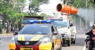 PMI Kota Tangerang Kembali Semprotkan Disinfektan di Seluruh Wilayah