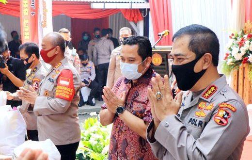 Walikota Tangerang Hadiri Bakti Sosial Dan Bakti Kesehatan HUT Bhayangkara Ke-74