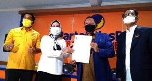 Pilkada 2020: Ratu Tatu Chasanah Resmi Didukung Partai Nasdem dan Kantongi Dukungan 6 Partai Lainnya