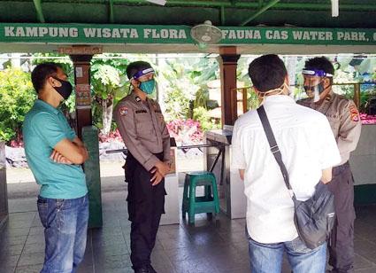 Ditbinmas Polda Banten Himbau Pengelola Wisata Terapkan Protokol Kesehatan