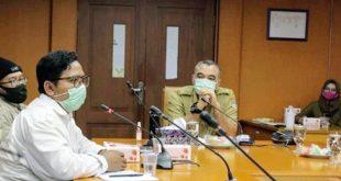Bupati Zaki : Diskusi Dengan Yayasan Banksa Suci Indonesia Terkait Cisadane