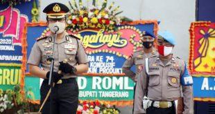 54 Anggota Polresta Tangerang Naik Pangkat di Hari Bhayangkara