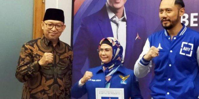 Partai Demokrat Usung Siti NurAzizah di Pilkada Kota Tangsel