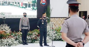 Kapolda Banten Pimpin Upacara Korps Raport Kenaikan Pangkat Secara Virtual