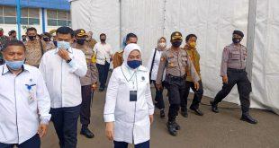 Kunker Menteri Ketenagakerjaan RI, Polres Serang Kota Dan Jajaran Gelar Pengamanan