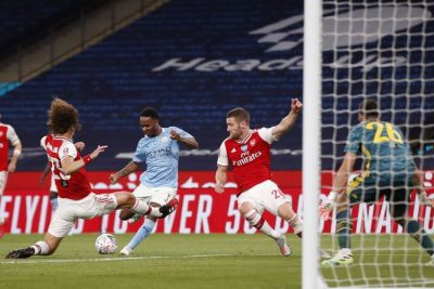 Arsenal Vs Man City - 11 Kali Sapuan Bola, David Luiz Bungkam