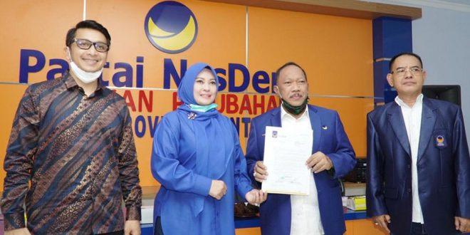 Nasdem Berikan SK Usungan, Irna-Tanto Sudah Kantongi 7 Parpol