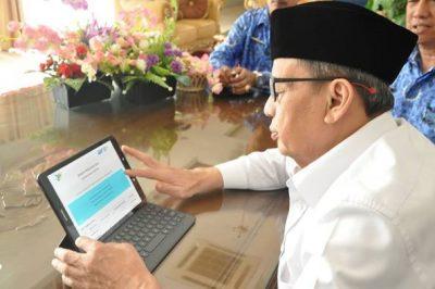 Sukseskan Sensus Online 2020, Pemprov Banten Raih Penghargaan BPS
