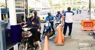 Pintu Parkir Otomatis Berbayar di Pasar Anyar Resmi Beroperasi