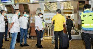 Menteri Perhubungan Sidak Bandara Soetta, BKS Cek Protokol Kesehatan