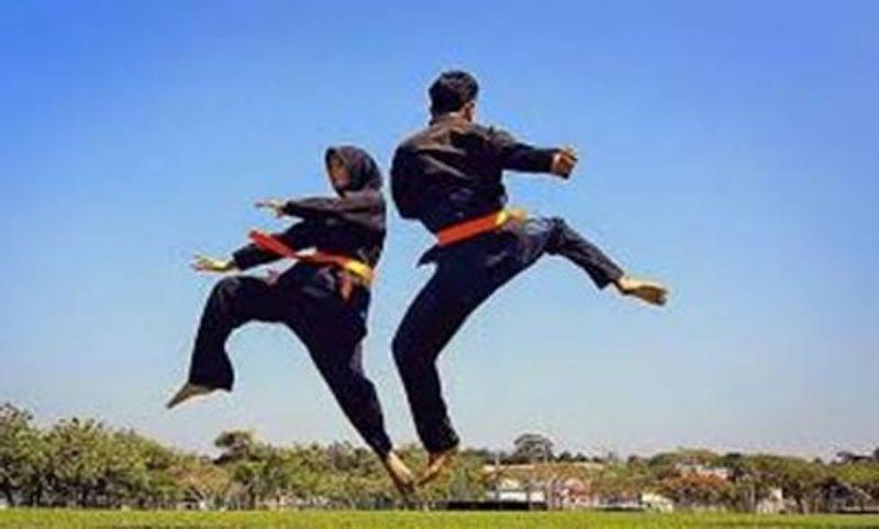 Festival Pencak Silat Untuk Perebutan Piala Danrem 064/MY, Ratusan Pesilat Beradu Tanding