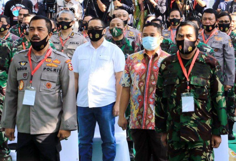 Walikota Arief Apresiasi Sinergitas TNI dan Polri Dalam Optimalisasi Ketahanan Pangan Masyarakat