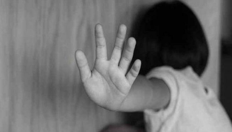 satpam asal Kampung Pabuaran, Desa Karang, Kecamatan Pagedangan, Kabupaten Tangerang, yang mencabuli anak tetangganya R (5) lantaran tak puas dengan pelayanan istrinya.