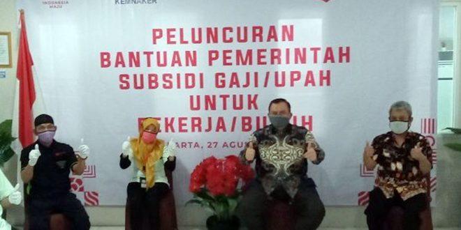 227.613 Pekerja Tangerang Datanya Dinyatakan Valid Dapat Subsidi Upah