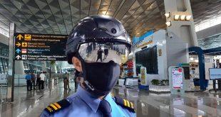Harga Helm Satpam Bandara Soetta Rp95 Juta Lebih Mahal dari Helm Valentino Rossi