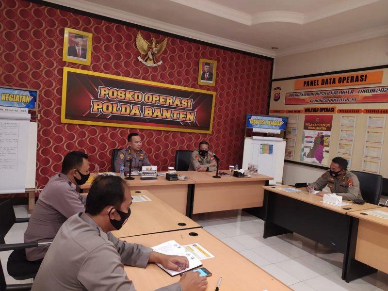Polda Banten Dukung Inpres No 6 Tahun 2020