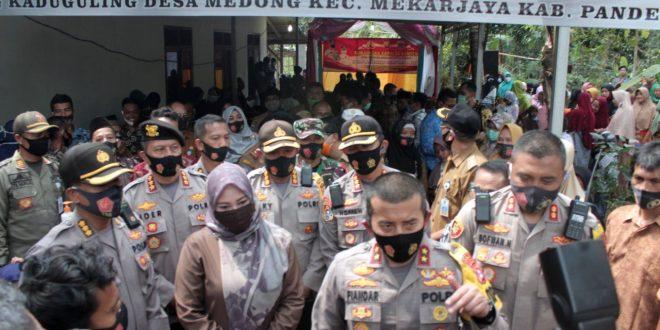Kapolda Banten Kunjungi Kampung Tangguh di Pandeglang, Ini Benar-benar Tangguh