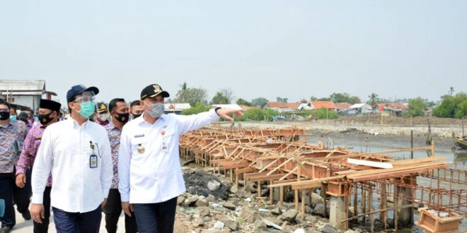 Bupati Zaki Ajak Kementerian PUPR Survei Lokasi Ketapang Urban Aquaculture Mauk