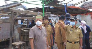 Tambah Ruang Terbuka Hijau (RTH), Pemkot Relokasi Pedagang di Pasar Jatiuwung