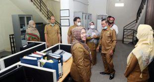 Walikota Syafrudin Sidak ULP Badan Pelayanan Pengadaan Barang dan Jasa (BPPBJ) Kota Serang