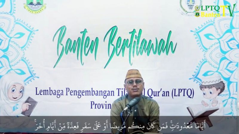 MTQ Banten 2020 Digelar Via Live Streaming YouTube, di ...