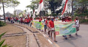 Protes Damai, 170 Petani Dari Medan Berjalan Kaki Ke Jakarta Untuk Temui Presiden