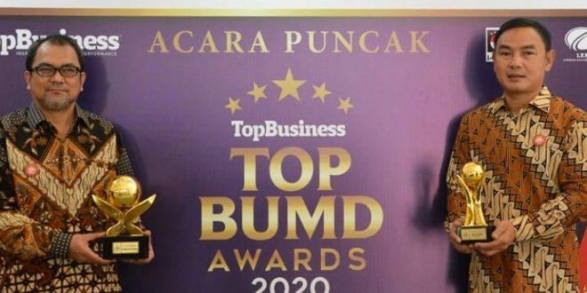 TOP BUMD Awards 2020, Pemkab Tangerang Raih 4 Penghargaan