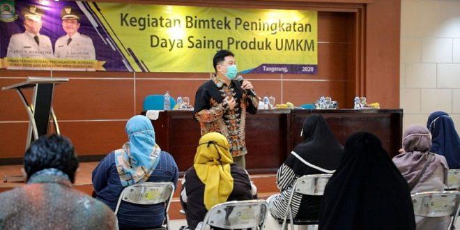 UMKM Kota Tangerang di Bekali Ilmu Pemasaran