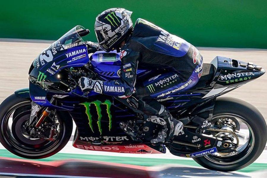 MotoGP Emilia Romagna 2020, Maverick Vinales Juaranya