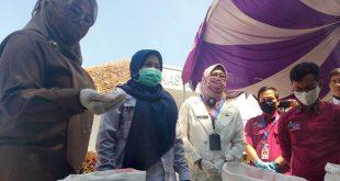 Puluha Ribu Ribu KPM PKH Pandeglang Dapat Bantuan Beras dari Kemensos