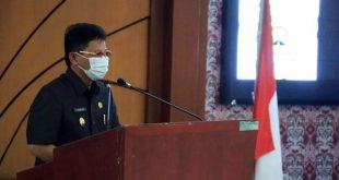 Wakil Walikota Sachrudin Sampaikan Jawaban Atas Pandangan Umum Fraksi DPRD