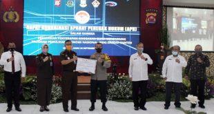 Polda Banten dan APH Daerah Gelar Rapat Penyerapan Anggaran Program Pemulihan Ekonomi Nasional