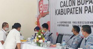 KPU Pandeglang Lakukan Tes Kesehatan Bapaslon Pilkada