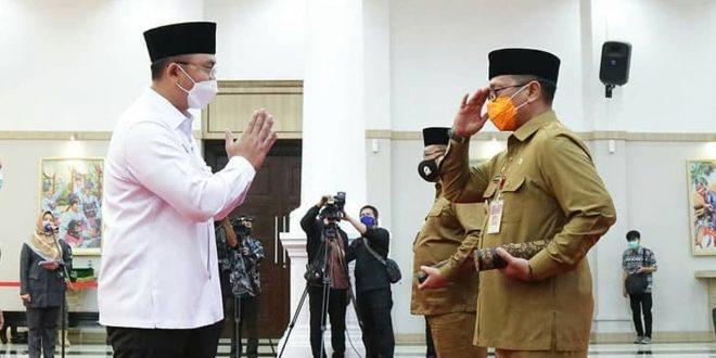 Sukseskan Pilkada Tanpa Bahayakan Masyarakat, Wagub Banten Lantik Pjs Bupati Pandeglang & Serang