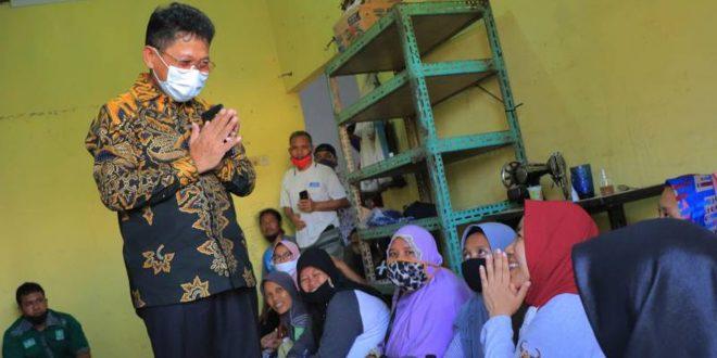 Sambangi Warga Kampung Baru, Sachrudin Tekankan Pemkot Akan Bantu Warga