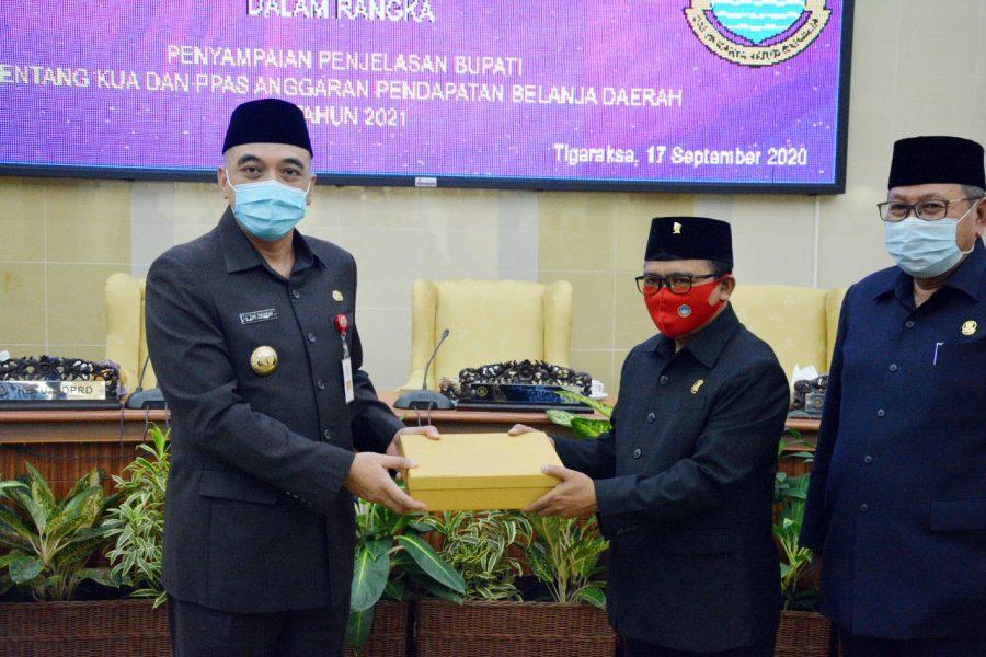RAPBD Perubahan TA. 2020, Sesuaikan Kebutuhan Pemkab Tangerang dalam Penanganan COVID-19