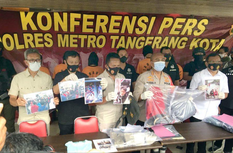 Berbuat Anarkis: 6 Orang Ditetapkan Sebagai Tersangka Saat Hendak Aksi Omnibus Law ke Jakarta