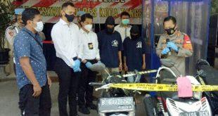 Polresta Kota Tangerang Meringkus Dua Residivis Pelaku Curanmor