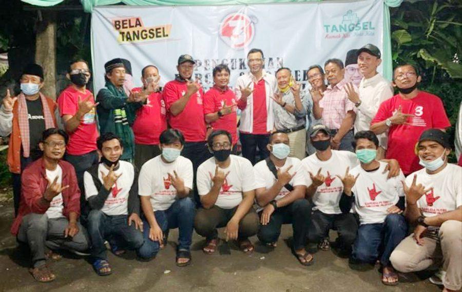 Tokoh Nasionalis Tangsel Berikan Dukungan untuk Paslon Ben-Pilar