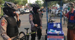 Lakukan Patroli Bersepeda, Ditsamapta Polda Banten Berikan Rasa Aman Kepada Masyarakat
