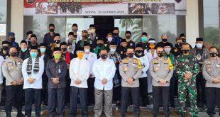 Polda Banten Bersama Jawara Persilatan, Deklarasi Cinta Damai Tolak Anarkisme