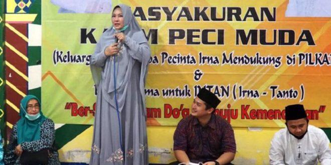 Tim Pemenangan Paslon Irna-Tanto Bergerak Raih Suara Pilkada Pandeglang