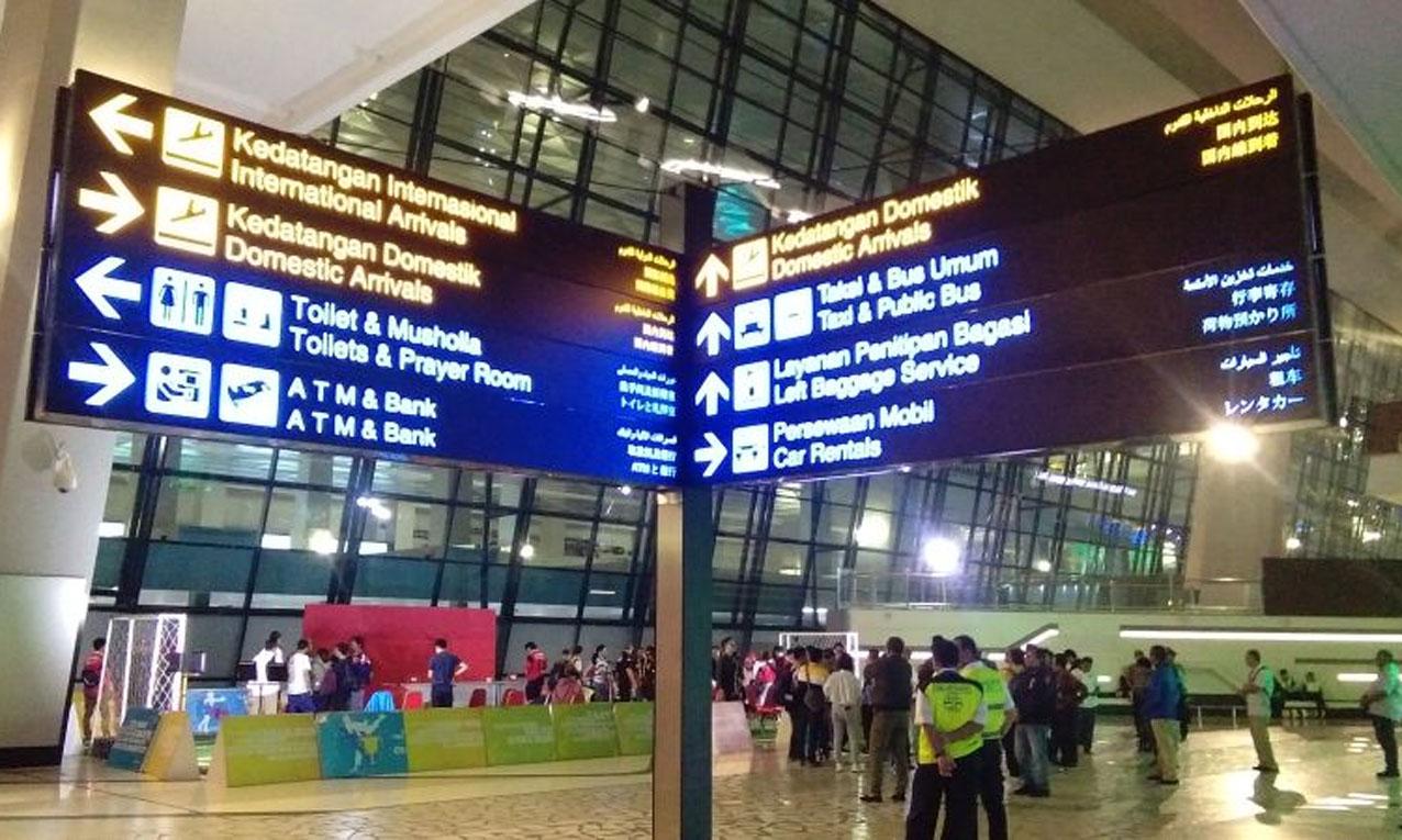 Alur Perjalanan Indonesia-Singapura di Bandara Soetta ...